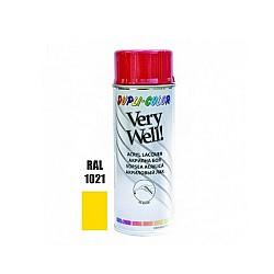 Very Well RAL 1021 светло жълто гланц 400 ml