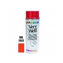 Very Well RAL 2002 червено оранжево гланц 400 ml