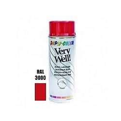 Very Well RAL 3000 ярко червено гланц 400 ml