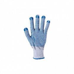 Ръкавици плетени сини бобчета SJ-131 800G