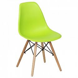 Трапезен стол с дървени крака Резида