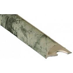 Външен ъгъл PVC - мрамор графит - 1207