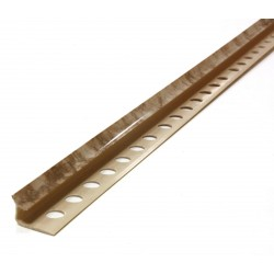 Вътрешен ъгъл PVC - мрамор беж-1210